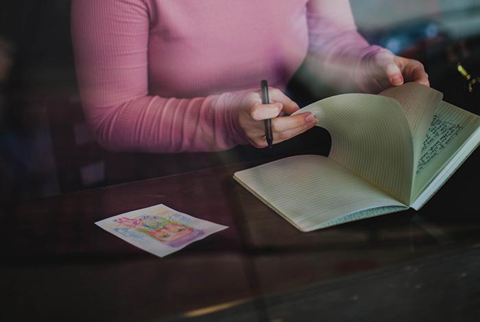 Anotar tres cosas buenas de cada día 1