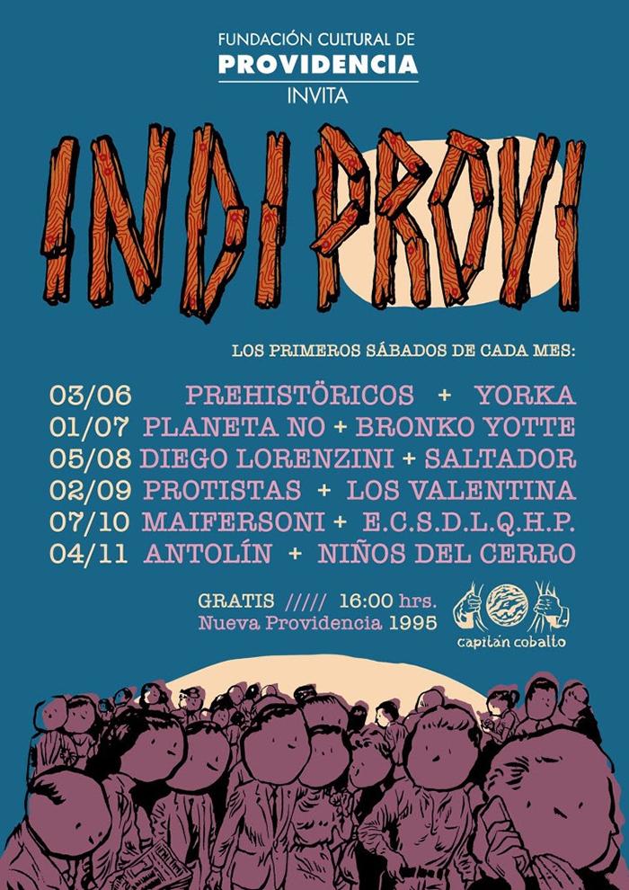 Planeta No y Bronko Yotte en vivo y gratis en Providencia 2