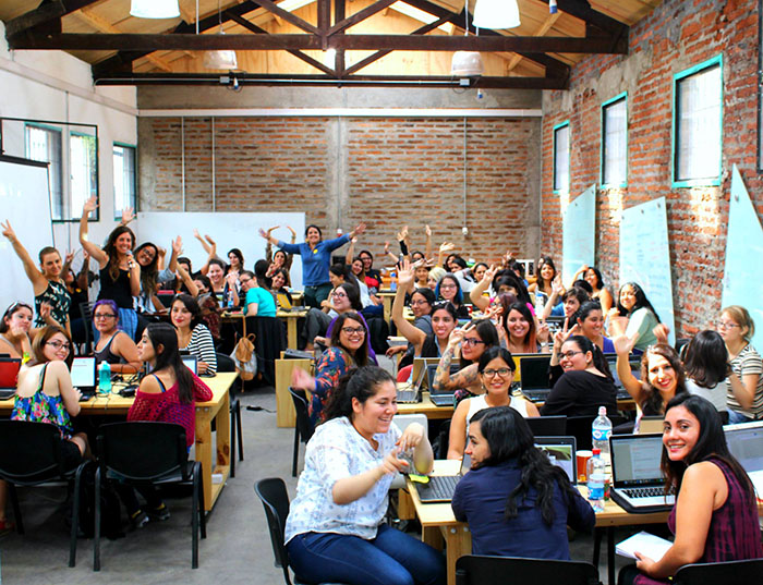 mujeres chilenas en tecnologia