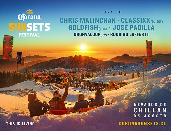 Concurso: Corona Festival en Nevados de Chillán 1