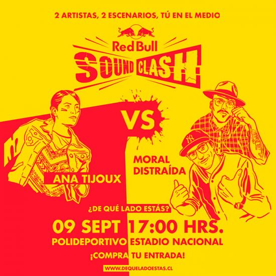 Ana Tijoux vs. Moral Distraída en Red Bull Soundclash 1