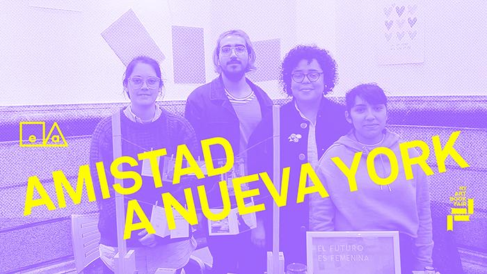 Ayuda a la microeditorial Amistad a ir a la NY Art Book Fair 3