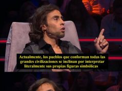 Chilean popular characters explaining complex things