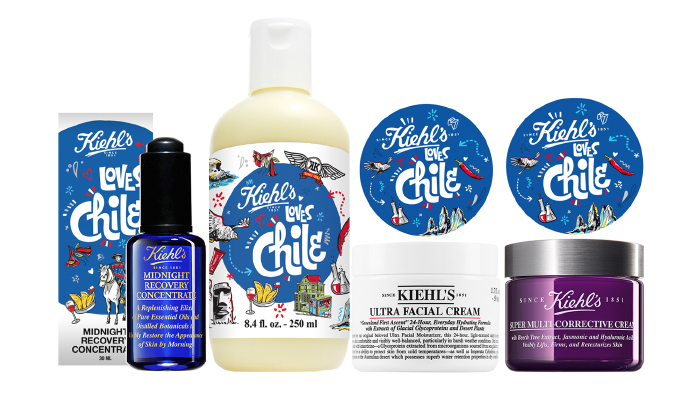 Encuentra la edición Kiehl's loves Chile en septiembre 2