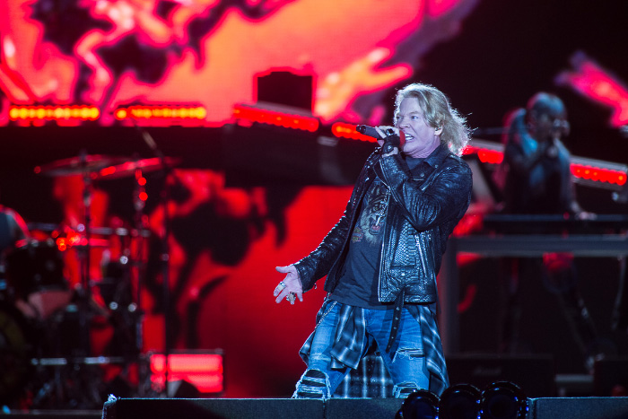 La inolvidable visita de The Who y Guns N' Roses en Stgo Rock City 2
