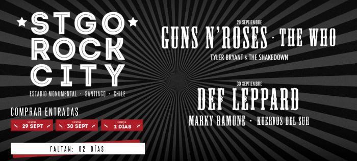 Aerosmith cancela su presentación en Stgo Rock City 1