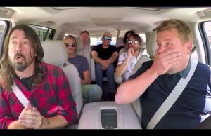 Foo Fighters en el Carpool Karaoke