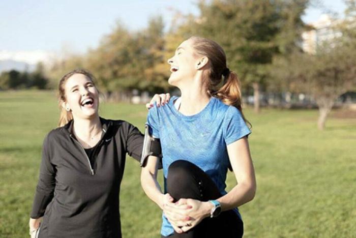 correr con amigas