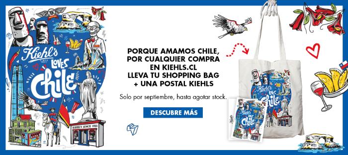 Encuentra la edición Kiehl's loves Chile en septiembre 3