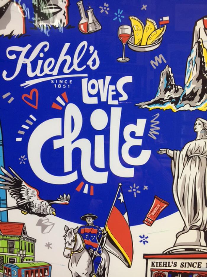 Encuentra la edición Kiehl's loves Chile en septiembre 1