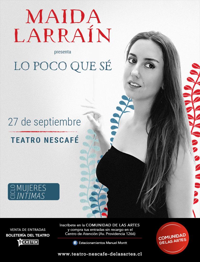Entrevista: Los referentes musicales de Maida Larraín 1