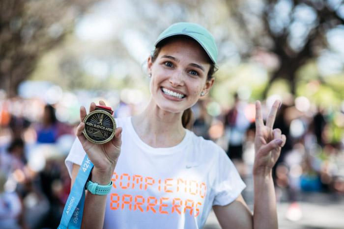 La emocionante experiencia de correr el maratón de Buenos Aires 2