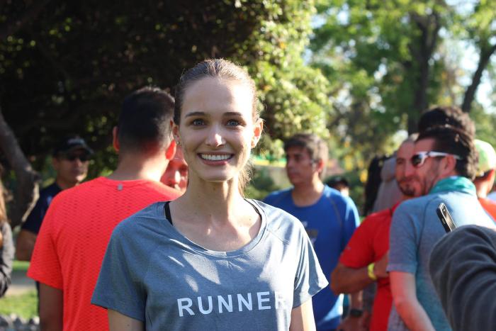 Entrevista a Gabi Dallagnol a un día del maratón de Buenos Aires 1