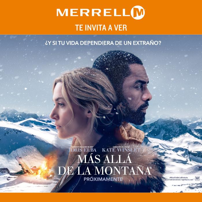 Merrell te invita a ver Más allá de la Montaña, de Kate Winslet e Idris Elba 1