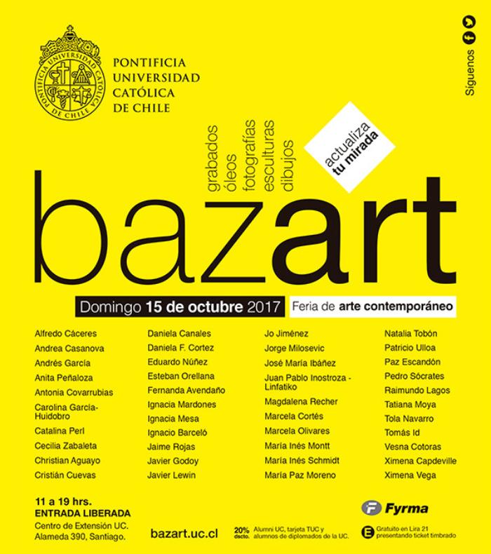 Fin de semana de arte en BazartUC y Galería Animal 1