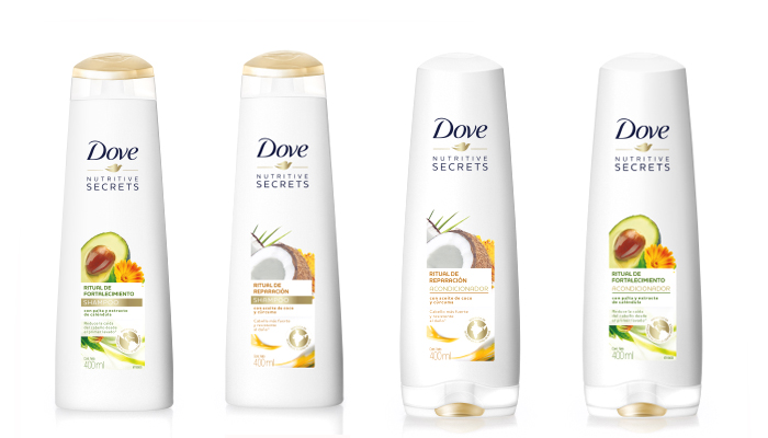 Rituales Dove Nutritive Secrets para tener un pelo sano y brillante 1