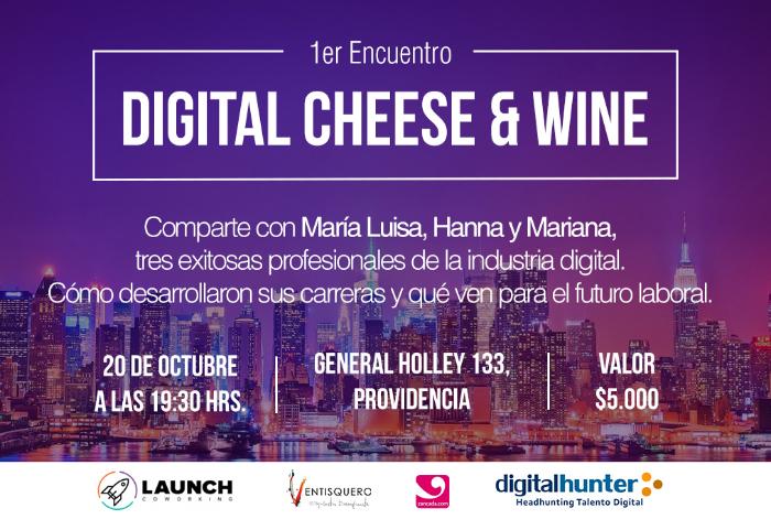 1er encuentro Digital Cheese & Wine: Mujeres digitales 1