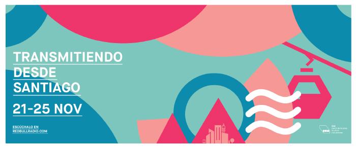 Pop Up Santiago de Red Bull Radio: 5 días de dedicados identidad chilena desde el GAM 1