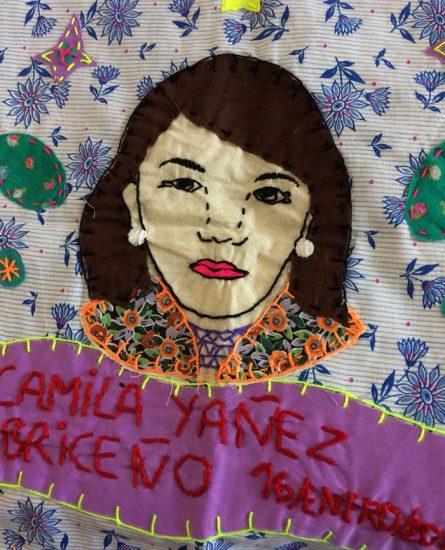 Arpilleras para recordar a las víctimas de femicidio 2