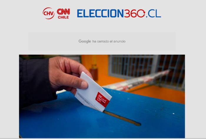 Elección 360, un sitio para seguir las elecciones 1