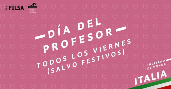 Viernes en FILSA: día del profesor 1