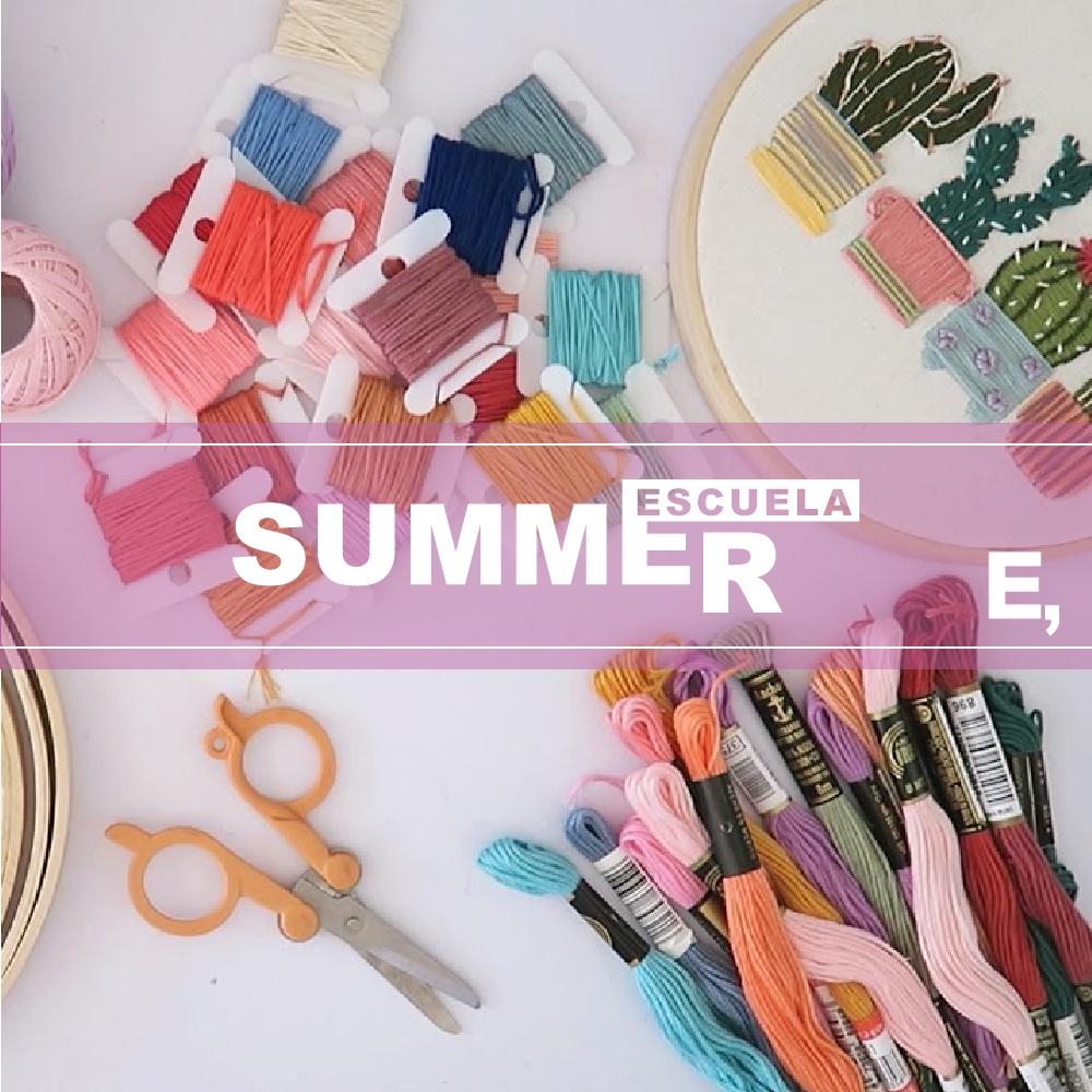 Escuela Summer, 3 días de workshop de diseño en verano 1
