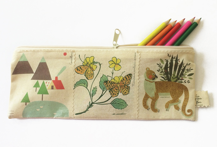 El precioso (¡y reciclable!) calendario Plumas de La Pipa Flor 3