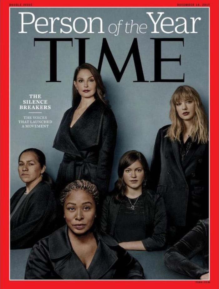 Revista Time nombra Persona del año 2017, a quienes que rompieron el silencio frente al acoso sexual 1