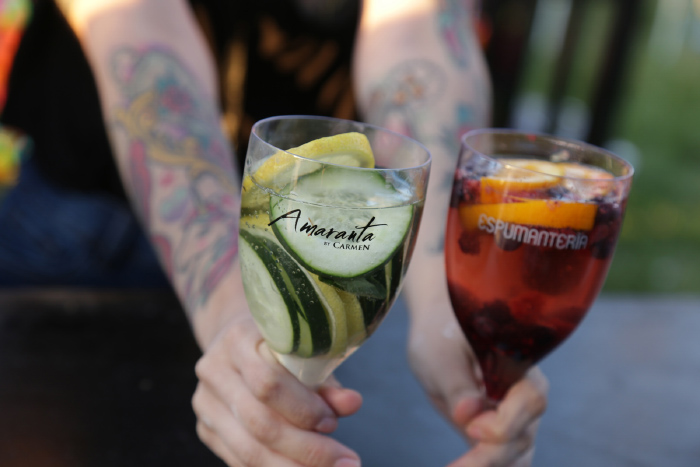 La Espumantería Amaranta: exquisitas recetas de espumante + frutas 2