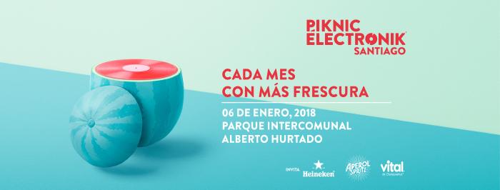 Prepárate para Piknic Électronik 3 en el parque Alberto Hurtado 1