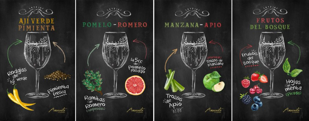 La Espumantería Amaranta: exquisitas recetas de espumante + frutas 5