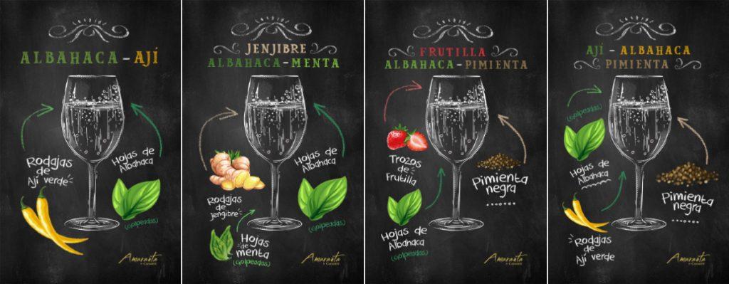 La Espumantería Amaranta: exquisitas recetas de espumante + frutas 4