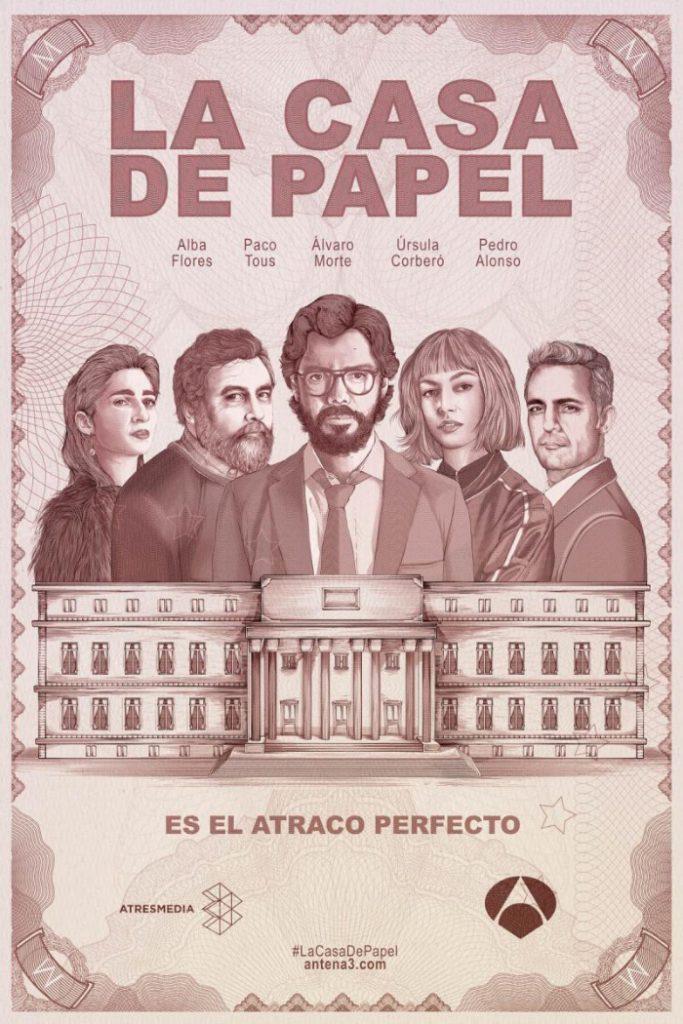 La casa de papel: intriga y amor a la española 1