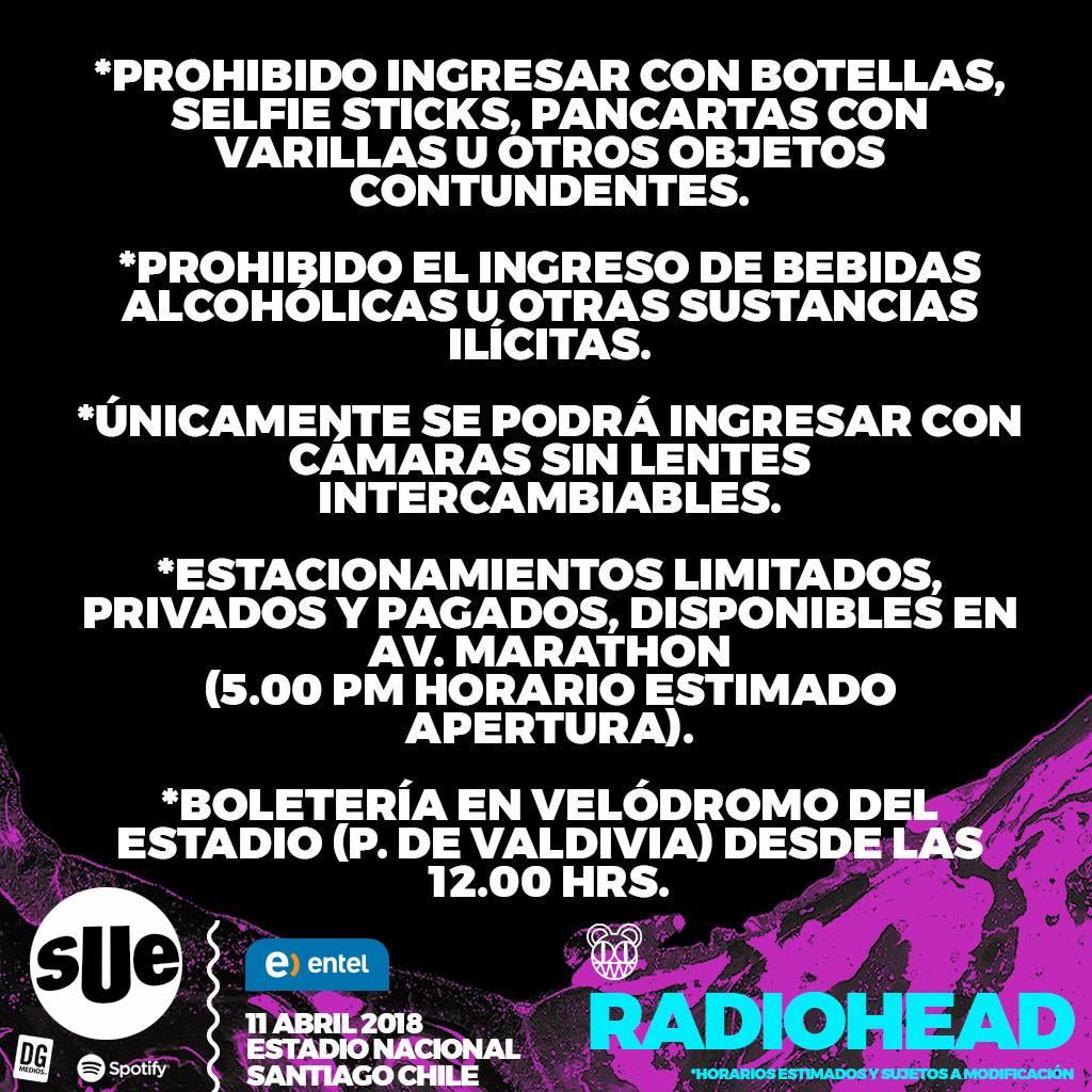 Esperando a Radiohead en SUE 2018 3