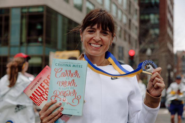 Entrevista Cristina Mitre, corredora y escritora 1
