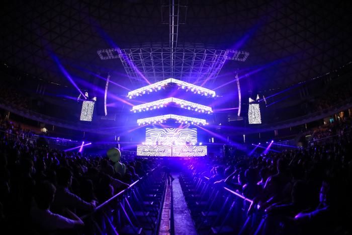 La elegancia de David Byrne, la genialidad de LCD Soundsystem y la emoción de Pearl Jam en la primera jornada de Lollapalooza Chile 2018 3
