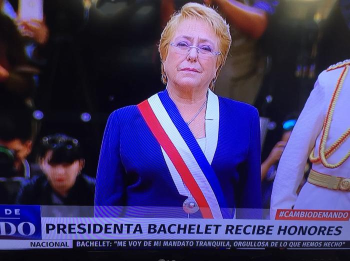Cambio de mando en Chile: Bachelet entrega la banda presidencial a Piñera 1