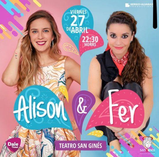 CONCURSO: Regalamos entradas para el show de Alison Mandel y Fer Metilli 1