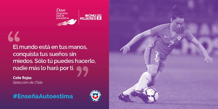 """""""Las niñas no tienen límites"""", una campaña para fomentar la autoestima y el deporte en las mujeres 3"""