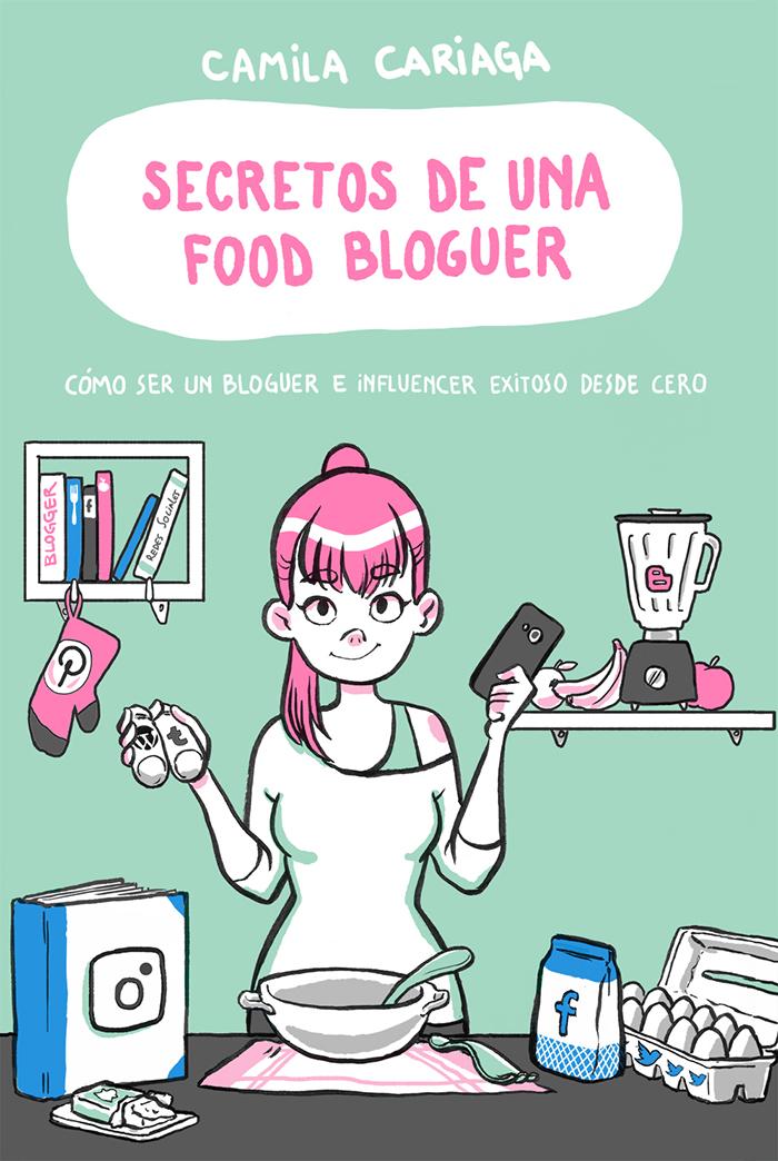 Entrevista a Camila Cariaga, autora de Secretos de una food bloguer 1