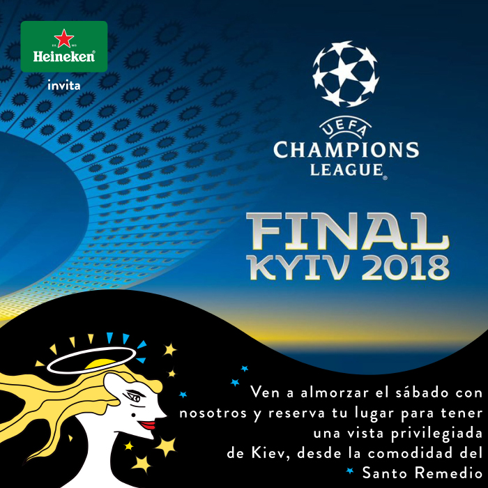 Disfruta la Champions League 2018 en Santo Remedio 3