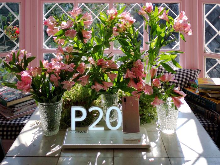 Huawei P20 Pink Gold para el día de la madre 1