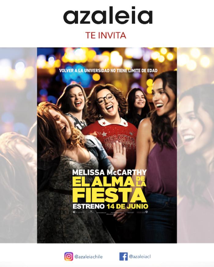 Azaleia te invita a ver El Alma de la Fiesta, de Melissa McCarthy 1