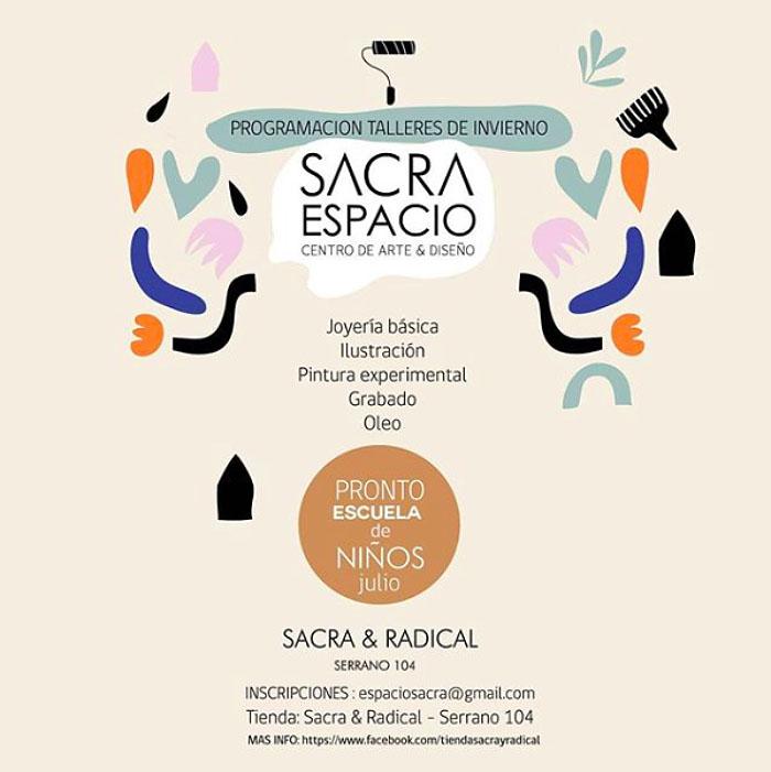 Espacio Sacra, talleres de artes y oficios en Puerto Montt 1