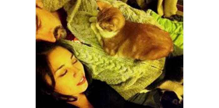 Mascotas & compañeras: Trufa, Khali y Verónica 1