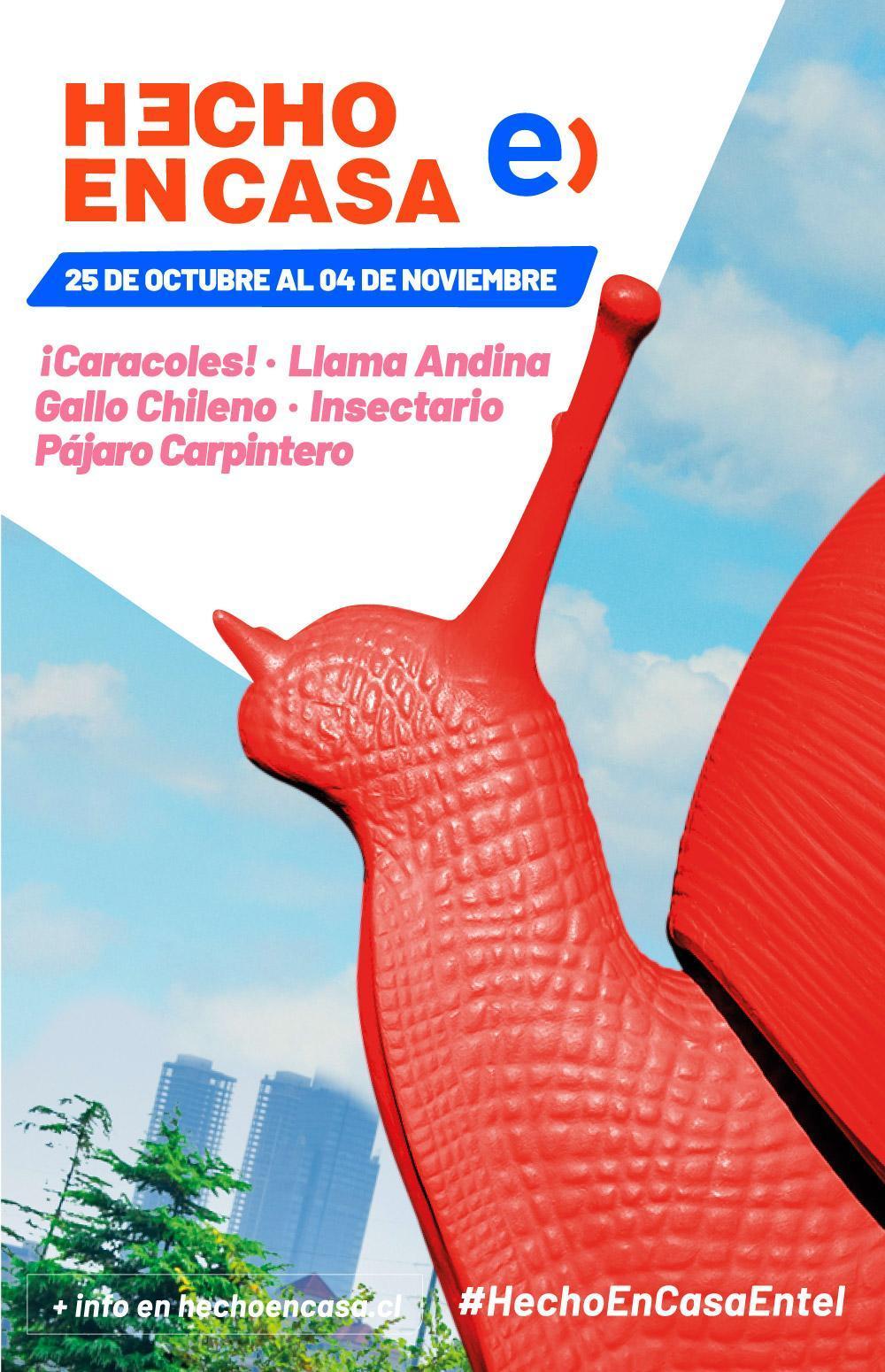 Animales de Chile se toman el Festival Hecho en Casa Entel 2018 1