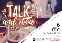 Talk and wine