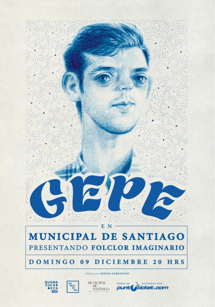 Gepe presenta 'Folclor imaginario' en el Teatro Municipal de Santiago 1