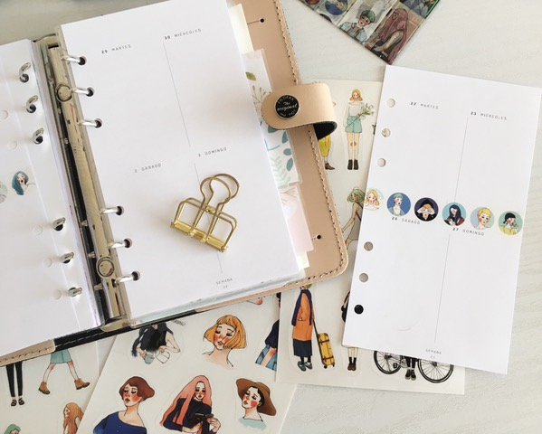 El diseño del planner personalizado de... Natalia Venegas 2