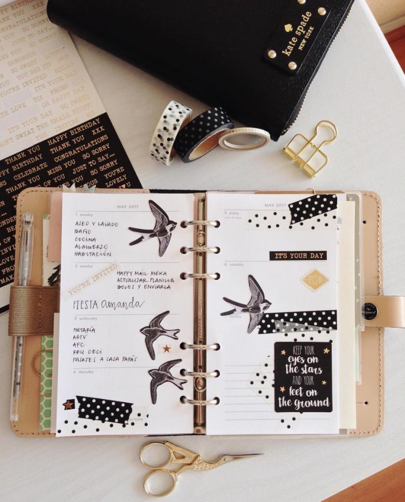 El diseño del planner personalizado de... Natalia Venegas 4